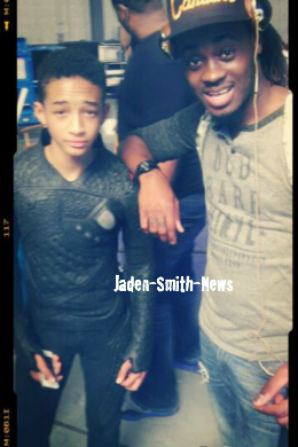 Sur le tournage d'After Earth + En exclusivit�, d�couvrez la tenue compl�te de Jaden !