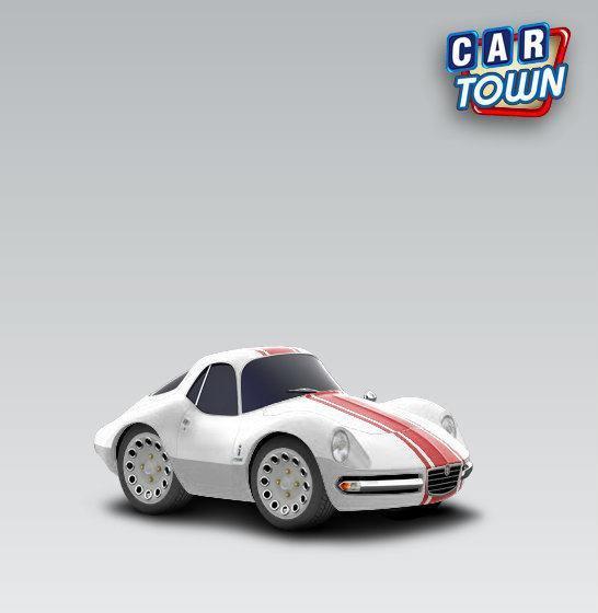 Alfa Romeo Giulia 1600 TZ2 Pininfarina Coupe